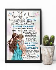 TO MY NIECE - GIRLS - I LOVE YOU 16x24 Poster lifestyle-poster-8