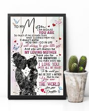 TO MY MOM - MY LOVING MOTHER 16x24 Poster lifestyle-poster-8