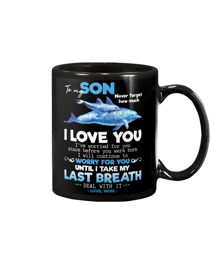 MOM TO SON Mug