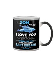 MOM TO SON Color Changing Mug thumbnail