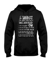 5 things you should know about this woman Hooded Sweatshirt thumbnail
