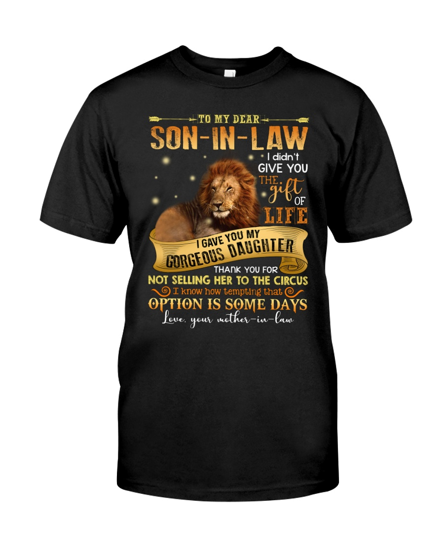 To My Dear Son In Law Classic T-Shirt