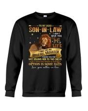 To My Dear Son In Law Crewneck Sweatshirt thumbnail