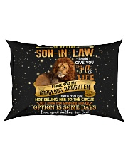 To My Dear Son In Law Rectangular Pillowcase thumbnail