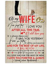 TO MY WIFE - COUPLE - I LOVE YOU 16x24 Poster front