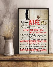 TO MY WIFE - COUPLE - I LOVE YOU 16x24 Poster lifestyle-poster-3