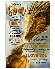 MOM TO SON - YELLOW - FOREVER 16x24 Poster front