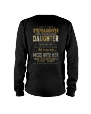 T-SHIRT - TO MY BONUS DAD - FATHER'S DAY Long Sleeve Tee thumbnail