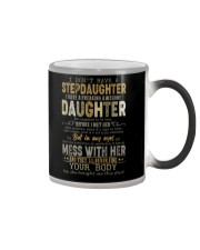 T-SHIRT - TO MY BONUS DAD - FATHER'S DAY Color Changing Mug thumbnail