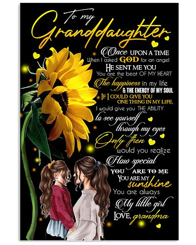 GRANDDAUGHTER - FLOWERS - YOU ARE MY SUNSHINE