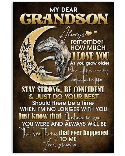 TO GRANDSON - MOON - ALWAYS REMEMBER
