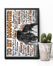 To My Daughter - Never Forget That You Are A  16x24 Poster lifestyle-poster-8