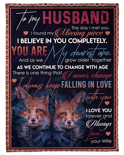 TO MY HUSBAND - FOX - I LOVE YOU