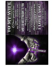To My Wife - Cross - Hands - Once Upon A Time  16x24 Poster front