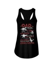 T-SHIRT - DAD - FAVORITE DINOSAUR Ladies Flowy Tank thumbnail