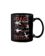 T-SHIRT - DAD - FAVORITE DINOSAUR Mug thumbnail