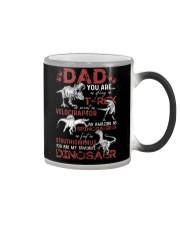 T-SHIRT - DAD - FAVORITE DINOSAUR Color Changing Mug thumbnail