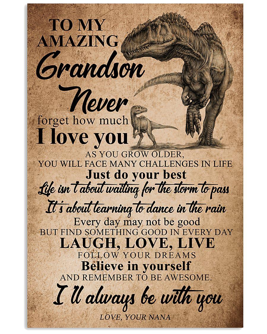 NANA TO GRANDSON 16x24 Poster