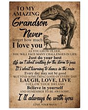 NANA TO GRANDSON 16x24 Poster front