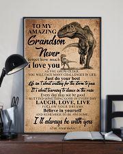 NANA TO GRANDSON 16x24 Poster lifestyle-poster-2
