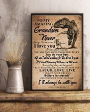 NANA TO GRANDSON 16x24 Poster lifestyle-poster-3
