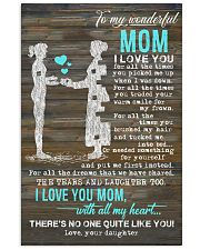 POSTER - TO MY MOM - PIECE - I LOVE YOU 16x24 Poster front