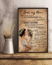 DEAR MY NIECE 16x24 Poster lifestyle-poster-3