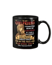 TO MY GIRLFRIEND Mug front
