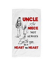 UNCLE AND NIECE Hand Towel thumbnail