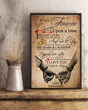 TO MY FIANCE'E 16x24 Poster lifestyle-poster-3