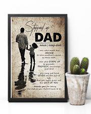 To My Bonus Dad - Poster 16x24 Poster lifestyle-poster-8