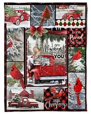 Christmas - I Am Always With You - Fleece Blanket Fleece Blanket tile