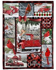 """Christmas - I Am Always With You - Fleece Blanket Large Fleece Blanket - 60"""" x 80"""" front"""