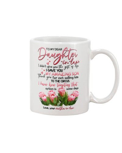 TO MY DAUGHTER-IN-LAW - PROTEA FLOWER - CIRCUS