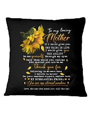 TO MY LOVING MOTHER Square Pillowcase thumbnail