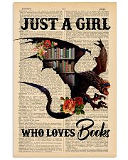 POSTER- BOOK DRAGON - JUST A GIRL 16x24 Poster front