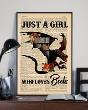 POSTER- BOOK DRAGON - JUST A GIRL 16x24 Poster lifestyle-poster-2