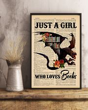 POSTER- BOOK DRAGON - JUST A GIRL 16x24 Poster lifestyle-poster-3