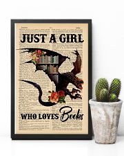POSTER- BOOK DRAGON - JUST A GIRL 16x24 Poster lifestyle-poster-8
