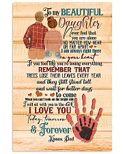 Daughter - Hands - Never Feel That You Are Alone Vertical Poster tile