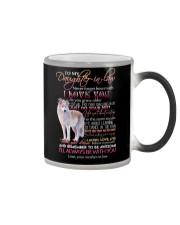 DAUGHTER-IN-LAW - WOLF - I'LL ALWAYS BE WITH YOU Color Changing Mug thumbnail
