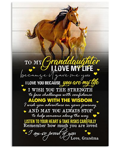 TO MY GRANDDAUGHTER - YOU ARE MY LIFE
