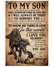 To My Son - Indoraptor - I Jusst Want You  16x24 Poster front