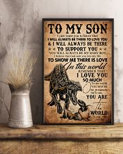 To My Son - Indoraptor - I Jusst Want You  16x24 Poster lifestyle-poster-3