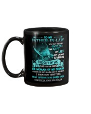 SON TO FATHER IN LAW Mug back