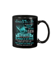 SON TO FATHER IN LAW Mug front