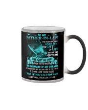 SON TO FATHER IN LAW Color Changing Mug thumbnail