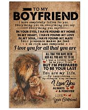 TO MY BOYFRIEND Vertical Poster tile