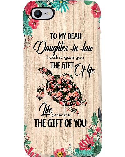 TO MY DAUGHTER-IN-LAW - TURTLE - GIFT OF LIFE