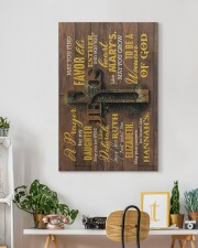 Dad And Mom To Daughter - May You Be Wise Like 20x30 Gallery Wrapped Canvas Prints aos-canvas-pgw-20x30-lifestyle-front-03